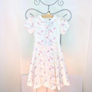 Preowned Ralph Lauren Girls Floral Dress